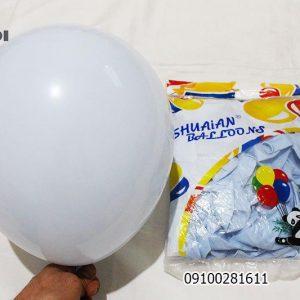 بادکنک پاستیلی آبی کم نیلی فروش عمده بادکنک شایت بالن shuaian
