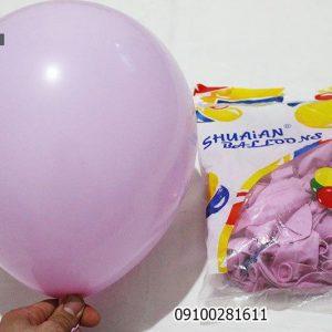 بادکنک پاستیلی یاسی بنفش کم رنگ خرید عمده فروش کلی-بادکنک رنگی-تم تولد