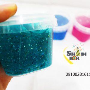 فروش عمده اسلایم اکلیلی پخش کلی انواع اسلایم slime های شفاف آدامسی پفکی