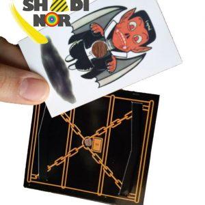 خرید عمده لوازم شعبده بازی کارت زندانی