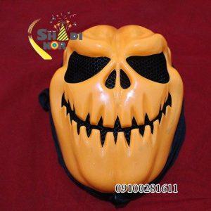 فروش عمده لوازم هالووین ماسک لبخند هالووین با شنل